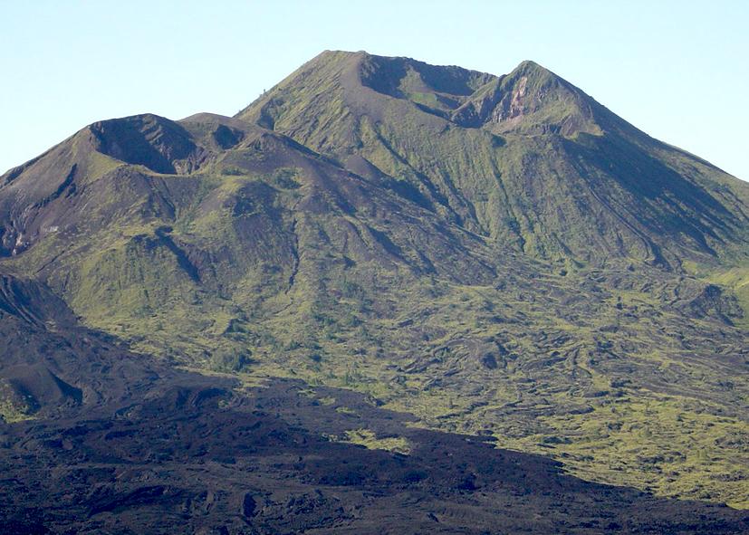 Volcano Bali Batur Batur Volcano